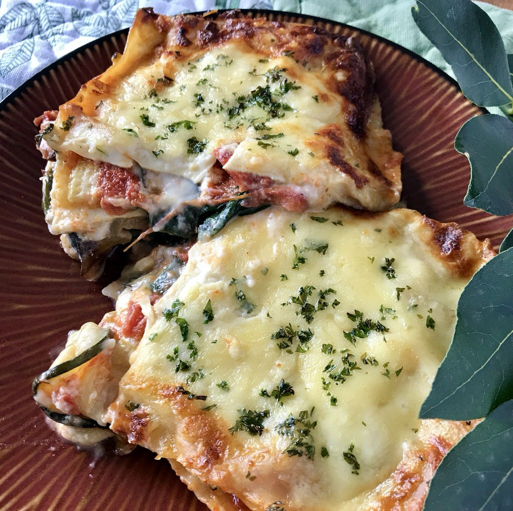 Vegetable Lasagne | Freezer