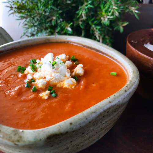 Tomato, White Bean & Feta Soup | Freezer