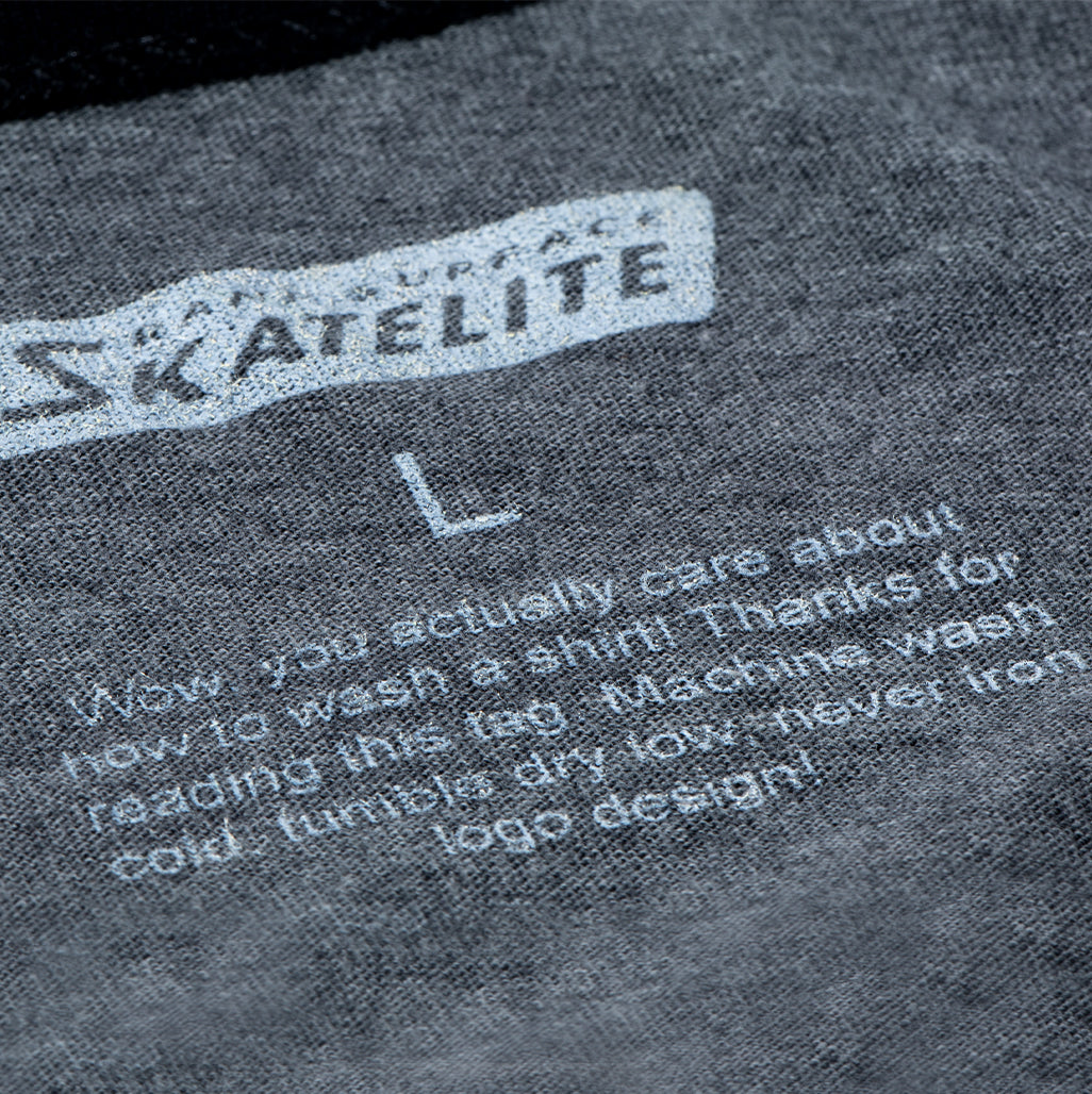 Skatelite x Sloan Wolf Co. Grey / Black Henley