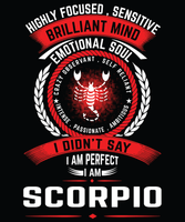 Scorpio Tee (4 Colors) - stuntees