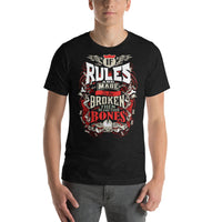 Breaking Bones Tee (4 Colors) - stuntees