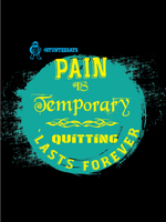 Pain is temporary Tee (3 Colors) - stuntees