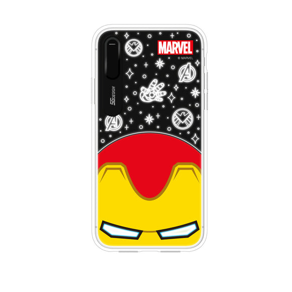 Cute Marvel Hero Lighting iPhone Case