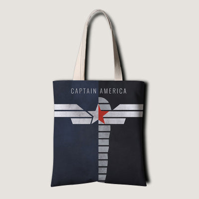 Winter Soldier & Captain America Grocery Bag
