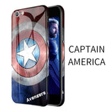 Marvel Superhero Tempered Glass Android System Case