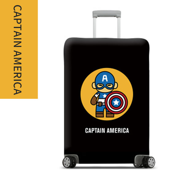 Iron Man / Captain America / Batman Suitcase Cover