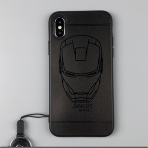 Iron Man/ Batman/ Superman/ Spider man/ Capatin of America Frosted iPhone Case