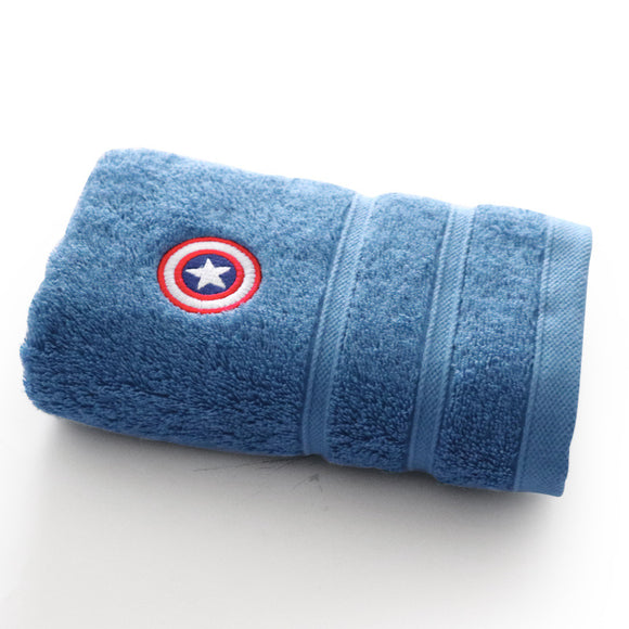 Marvel Towel/ Bath Towel (Ironman/ CaptainAmerica/ Spiderman)