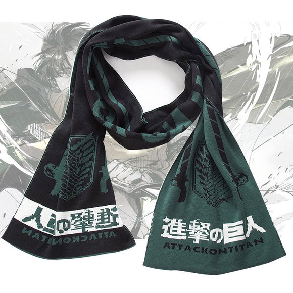 Attack on Titan Winter Wrap Scarf