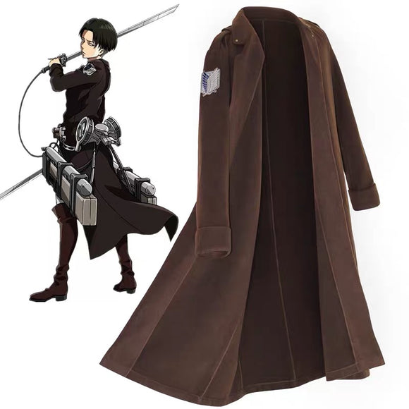 Attack on Titan Levi Ackerman Cosplay Coat