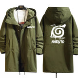 Naruto Shippuden Long Hooded Trench Coat
