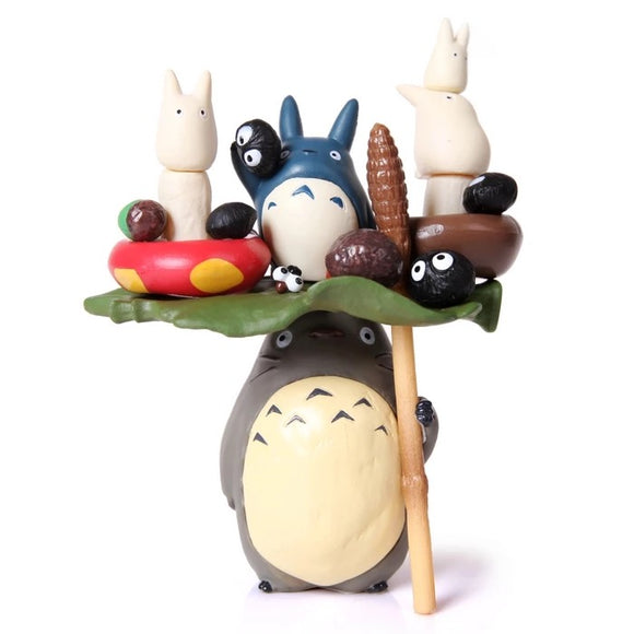 Totoro Jenga Fairy Garden Series Mini Figure Statue