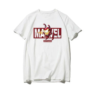 Avengers in Battles Graphic T-shirt with Marvel Logo