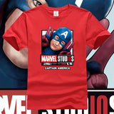 Marvel Studios The First Ten Years Captain America T-shirt