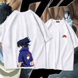 Naruto Shippuden Youth Uchiha Sasuke Summer T-shirt