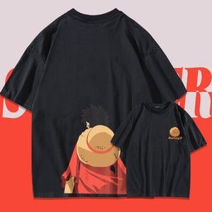 One Piece Monkey D. Luffy's Back Summer T-shirt