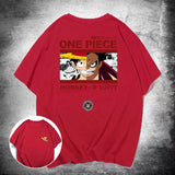 Monkey D. Luffy Double-Faced Summer T-shirt