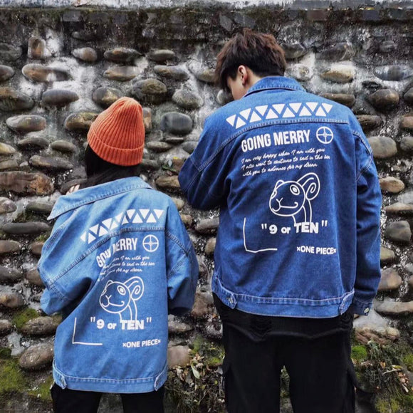 One Piece Going Merry Denim Jacket