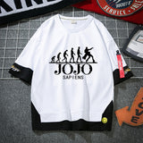 JoJo's Bizarre Adventure Layered Tee