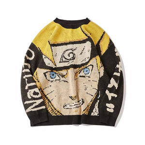 Uzumaki Naruto Gnashing Casual Sweater
