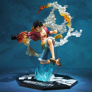 One Piece Monkey D. Luffy 7-Inch Leap Statue
