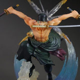 One Piece Roronoa Zoro 7-Inch Battle Statue