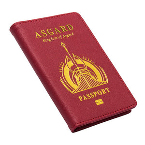 Marvel Passport Cover