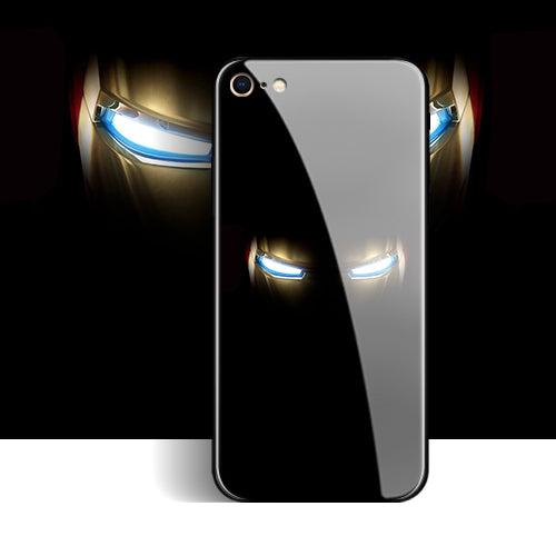 Marvel Hero Glass iPhone Case (Iron Man/Captain America/Spiderman)