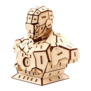 Iron Man 3D sculpture Puzzle