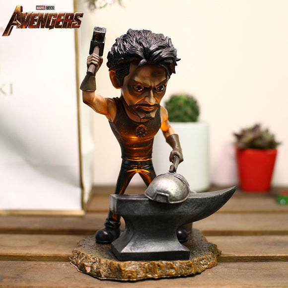 Tony Stark Making MK I Figure