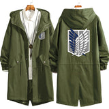 Attack On Titan Mid Length Trench Coat