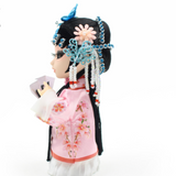 Handmade Chinese Silk Doll - Li Xiang Jun