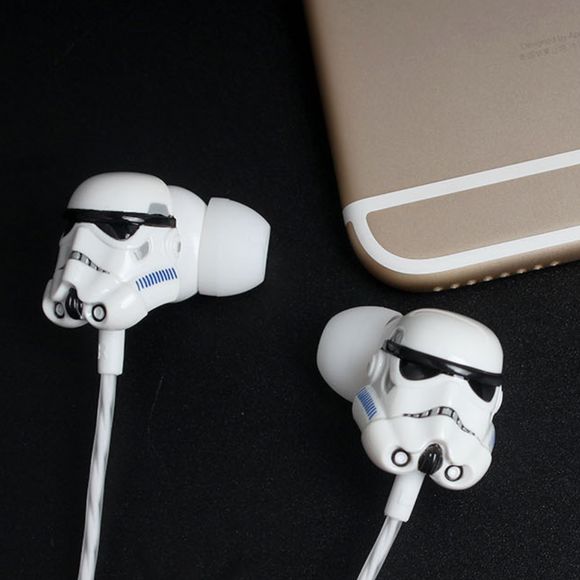 Star wars Stormtrooper Earphone