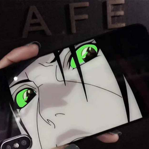 Uchiha Itachi Lighting iPhone Case