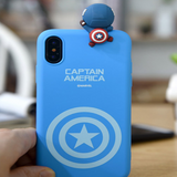 Marvel Superhero Cute iPhone Case Type B