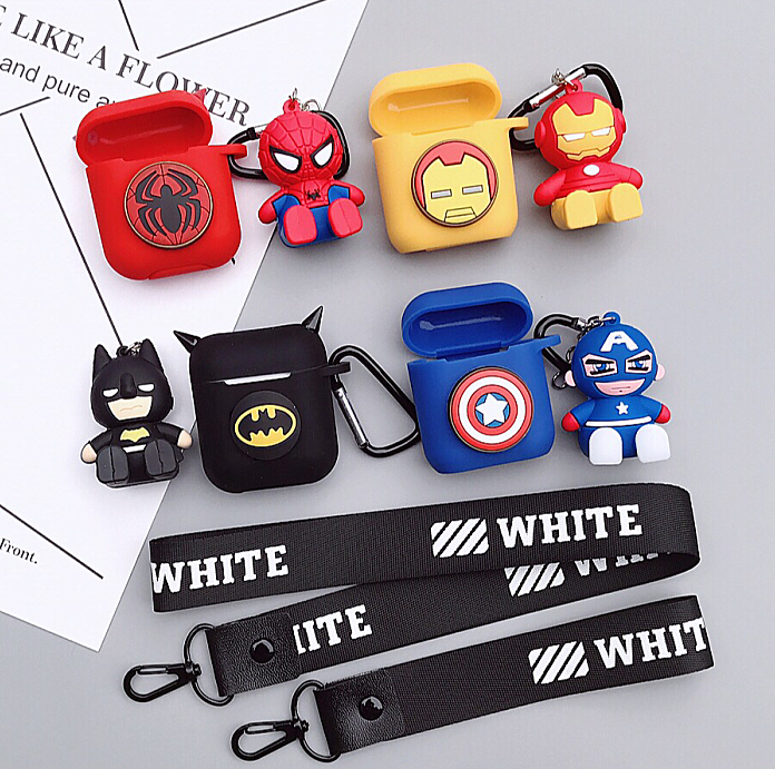 quality design 0fa80 4b69d Superhero Airpods Protect Case (Spider Man/ Captain America/ Iron Man/  Batman)