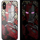 Cool Tech Lighting Notification iPhone Case (Iron Man/Hulkbuster)
