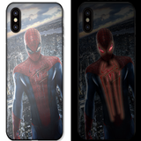 Cool Tech Lighting Notification iPhone Case (Spider Man/Thor)