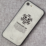 One Piece & Demon Slayer Fabric iPhone case
