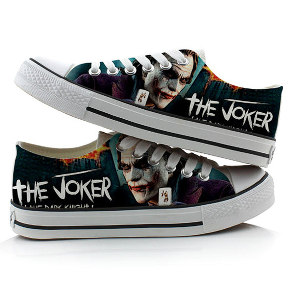 Joker Canvas Shoes (DC Joker)
