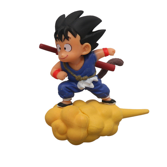 Dragon Ball Flying Son Goku in Somersault Car Accessories
