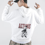 One Piece Monkey D. Luffy Actions Hoodie