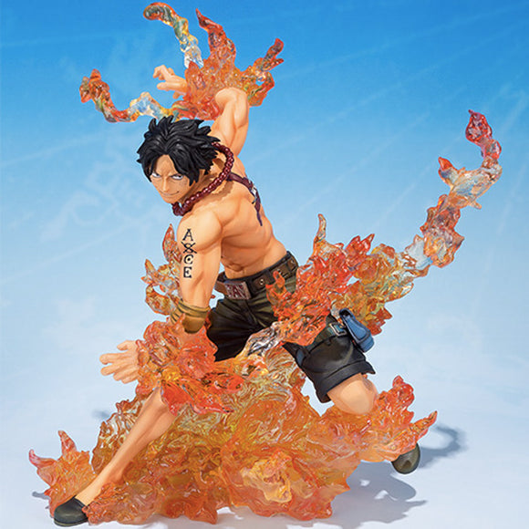 One Piece Portgas D. Ace Bandai Brother's Bond Figuarts ZERO Statue