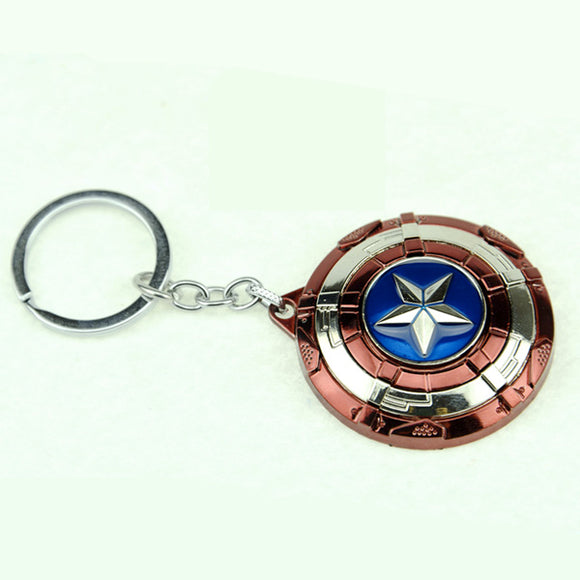 Marvel Captain America Shield Key Chain