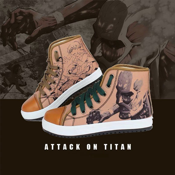 Attack on Titan High-Top Casual Shoes