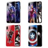 Avengers in Fight TPU iPhone Case