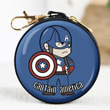 Avengers Cartoon Multi-function Coin Purse / Headset Storage Bag