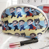The Avengers / Thorki / Batman & Superman Zippered Makeup Bag