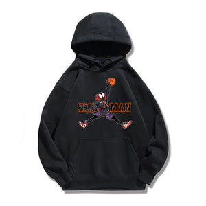 Spider-Man: Into the Spider-Verse Playing Basketball Hoodie