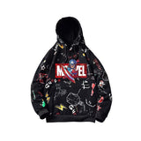 Marvel Avengers and Logo Unisex Pullover Hoodie